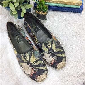 Valentino Butterfly Espadrilles